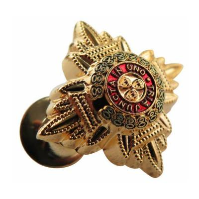 Die Struck Bronze Soft Enamel Lapel pin