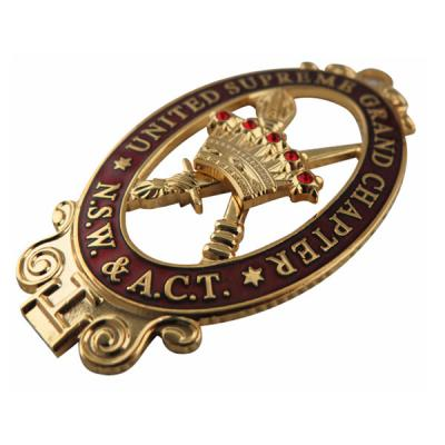 Gold Military Badge