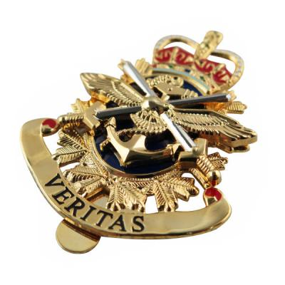 Custom Canadian Forces Cap Badges
