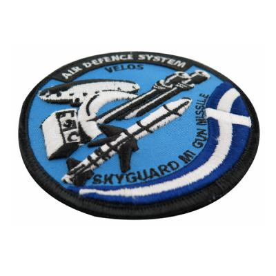 Air Defence System Military Embroidery Patches