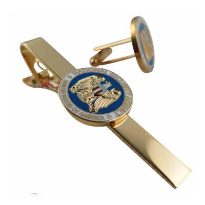Imitation Hard Enamel Tie Bar For USA National Security Agency