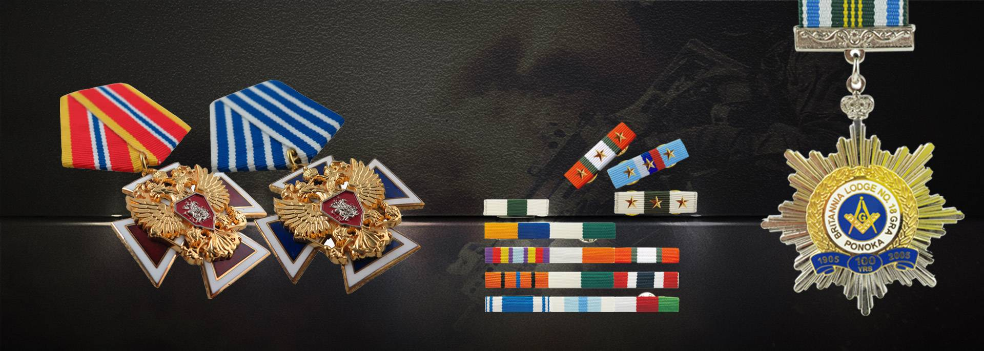 Custom Design Military Medals