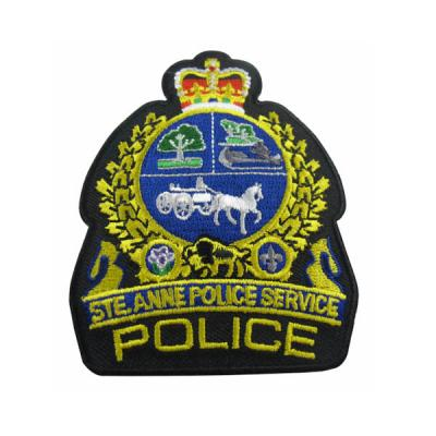 Embroidery Patches For the Police Department
