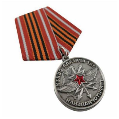 High Quality Customized 3D Army Medallion With Coloured Ribbon