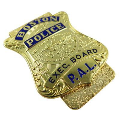 High Quality Gold Color Money Clip For USA Boston Policy