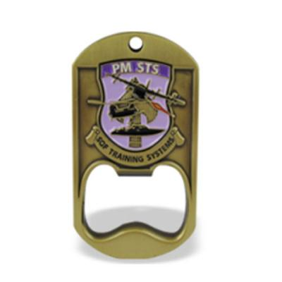 Military Dog Tags With Bottle Opener
