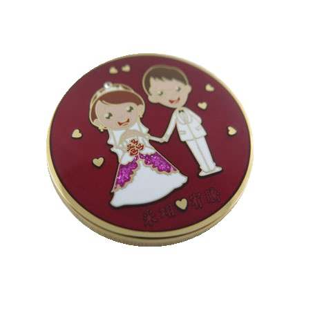 wedding commemorative lapel pin