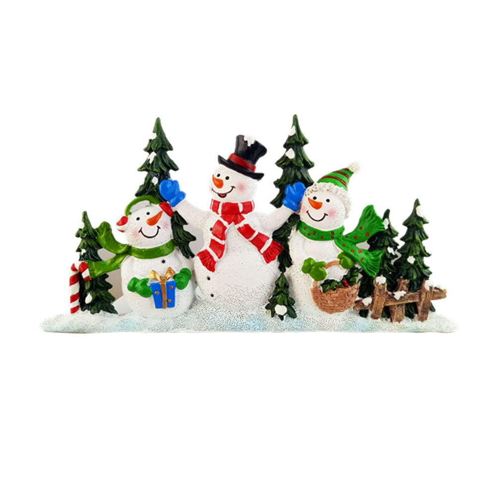 Christmas Resin Statues