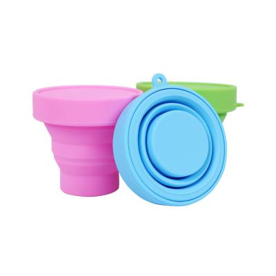 Custom Eco-Friendly Foldable Silicone Cups