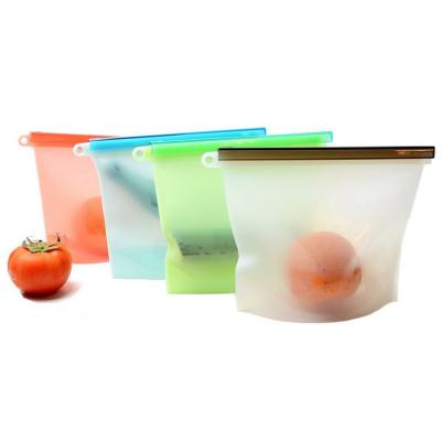 Custom Silicone Food Strage Bags