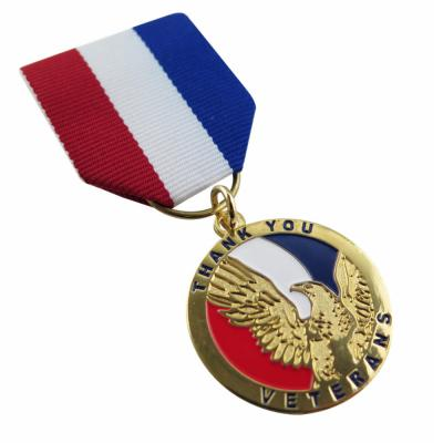 Custom The Thank You Veterans Medals
