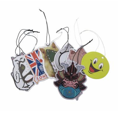 Custom Promotion Items Paper Car Air Fresheners