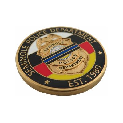Custom Challenge Coin Police