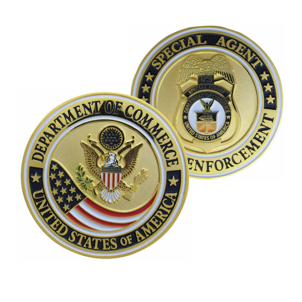 Department Of Commerce Challenge Coins