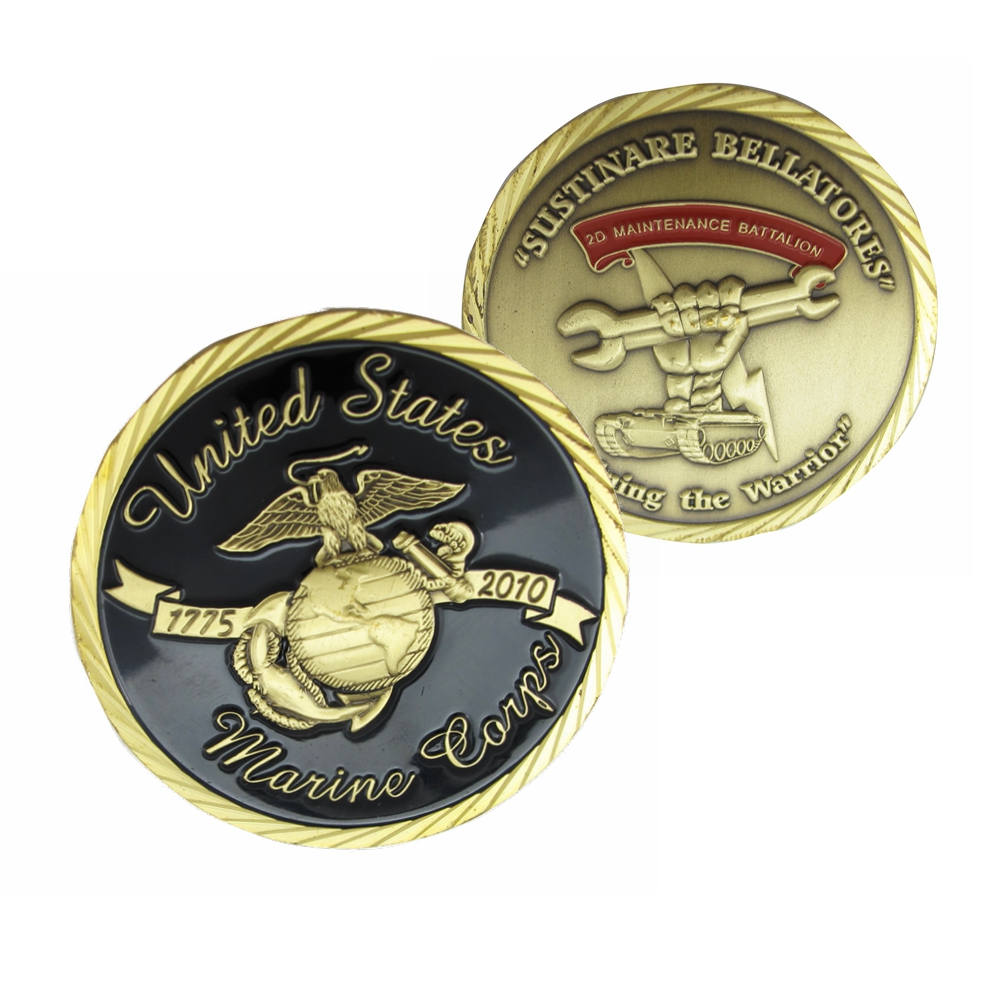 Marine Corps Challenge Coins