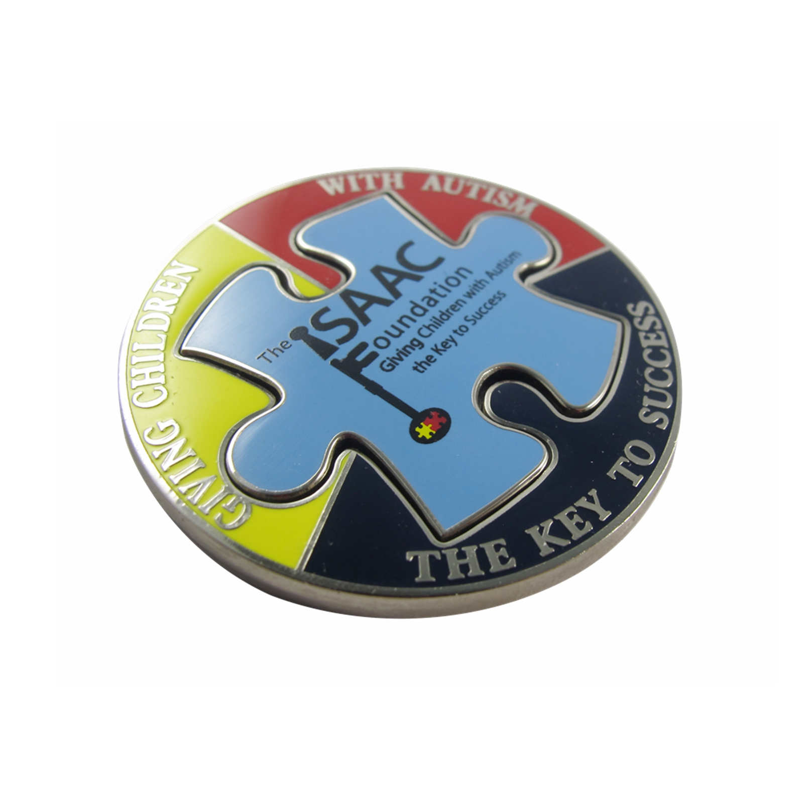Jigsaw Puzzle Coins