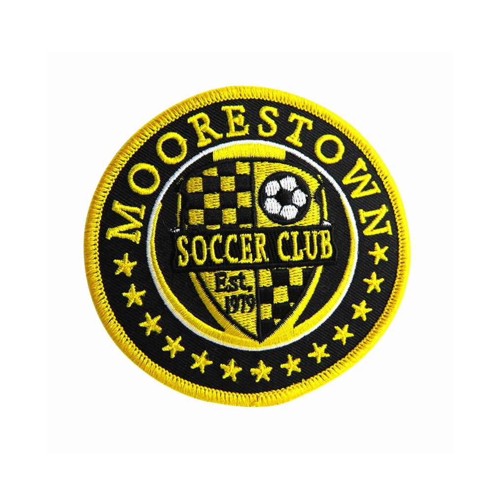 Soccer Club Patches