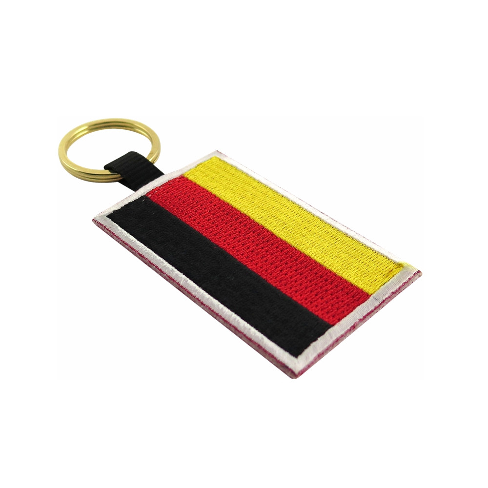 German Flag Keychain