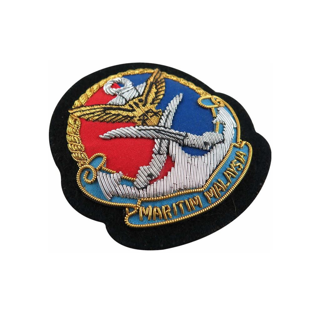 Military Bullion Badges