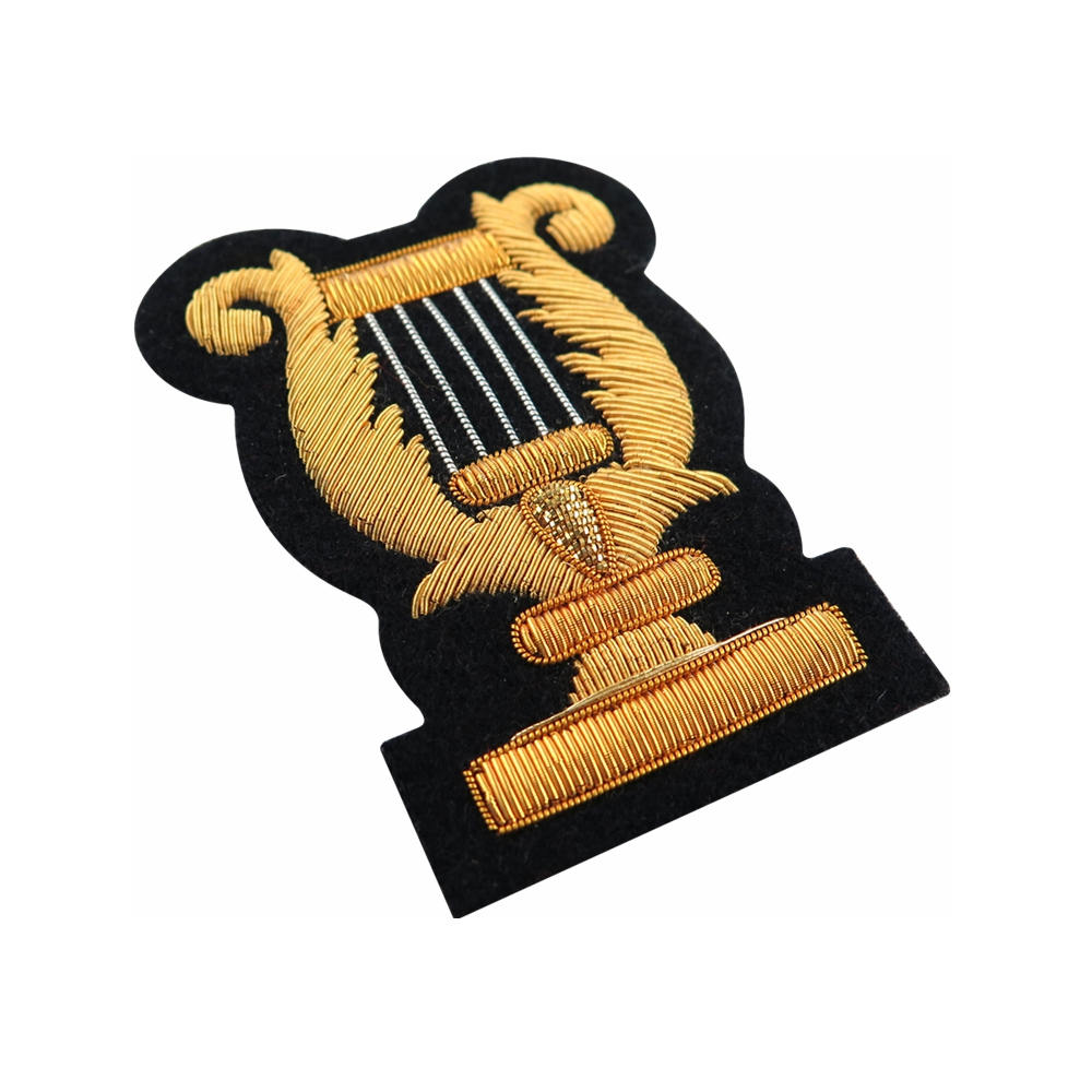 Gold Wire Blazer Badges