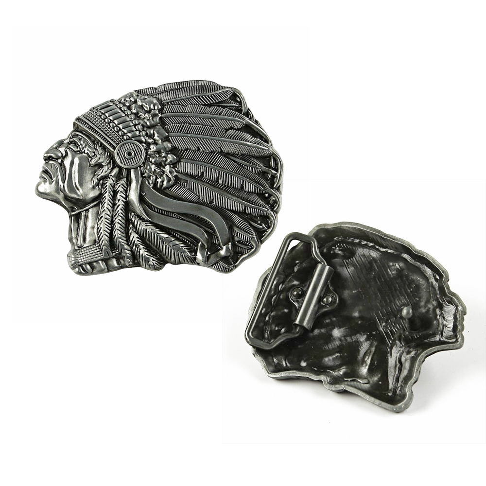 Indian Head Belt Buckles