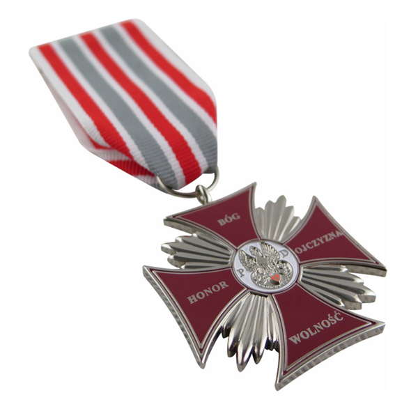 Custom The Honor i Ojczyzna Cross Medal Of Poland
