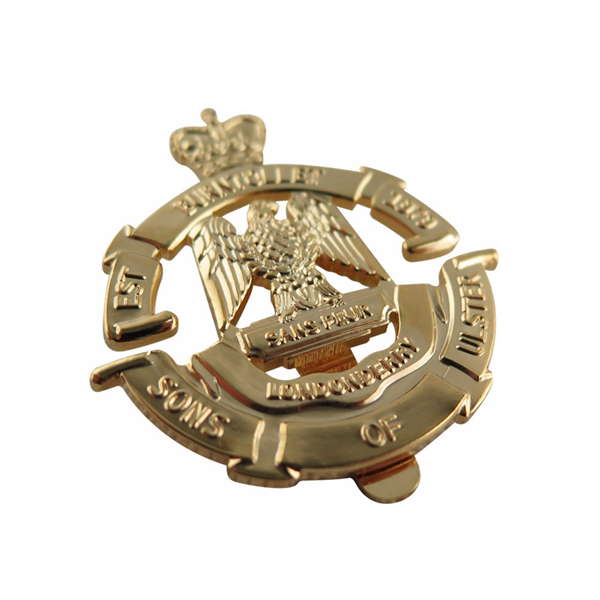 Sans Peur Cap Badge
