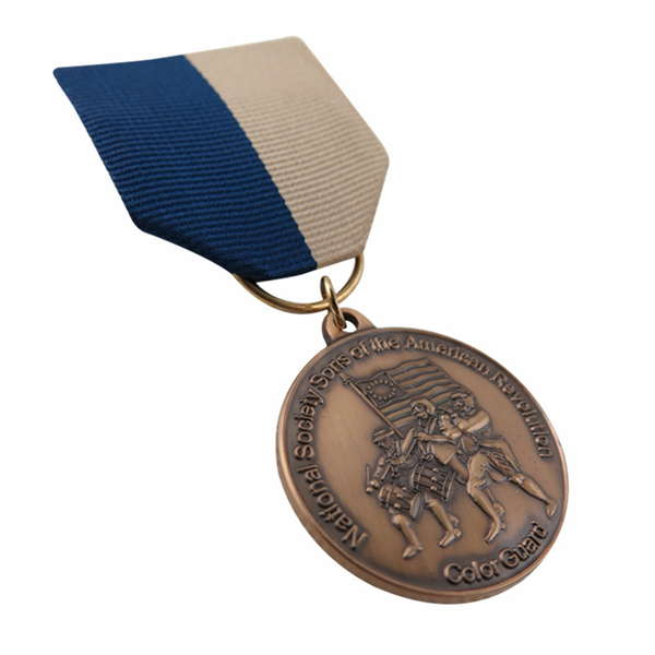 Sons Of The American Revolution Medal For Colour Guard