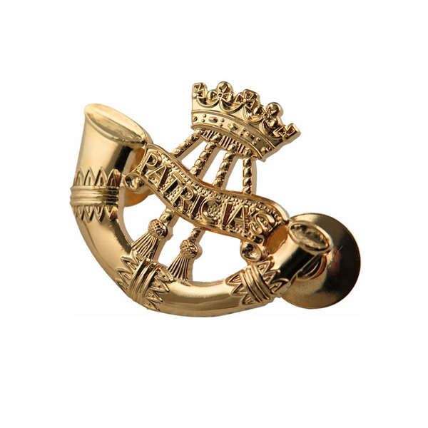 Light Infantry Cap Badges