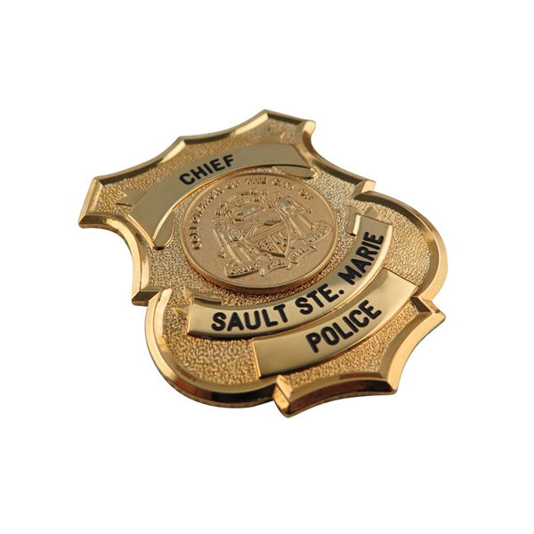 Chief Police Badge