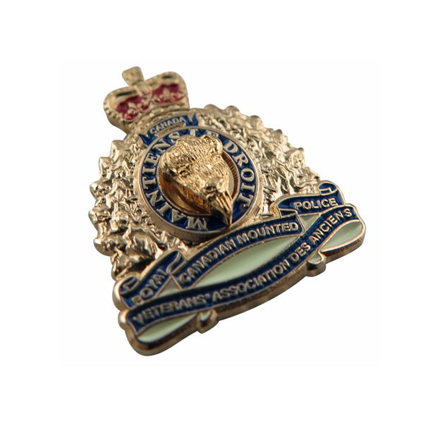 Royal Canadian Mounted Police Badge