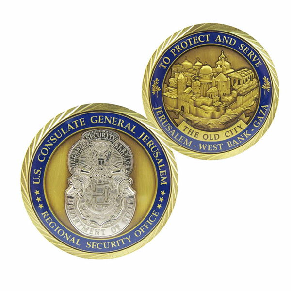 Security Challenge Coins