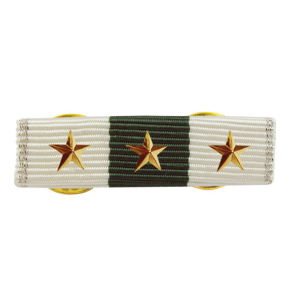 Ribbon Bars With Metal Logo