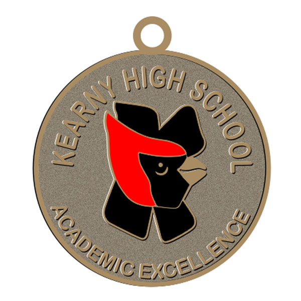 Custom Design School Medal