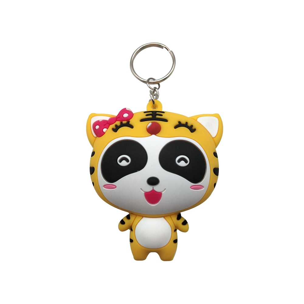 Soft PVC Cartoon Keychain