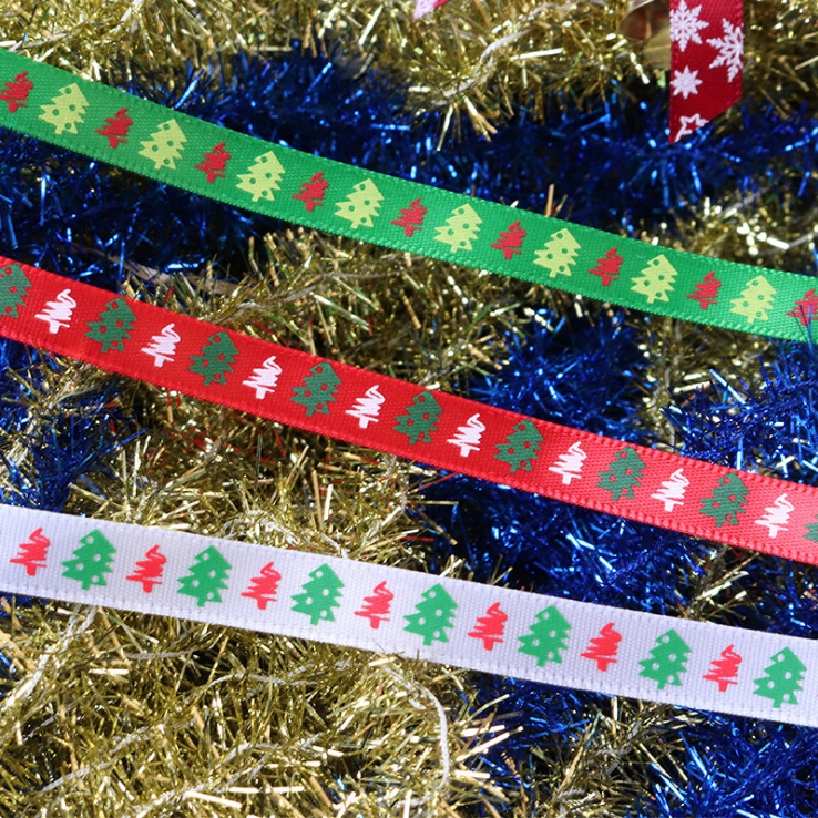 Christmas Satin Ribbon